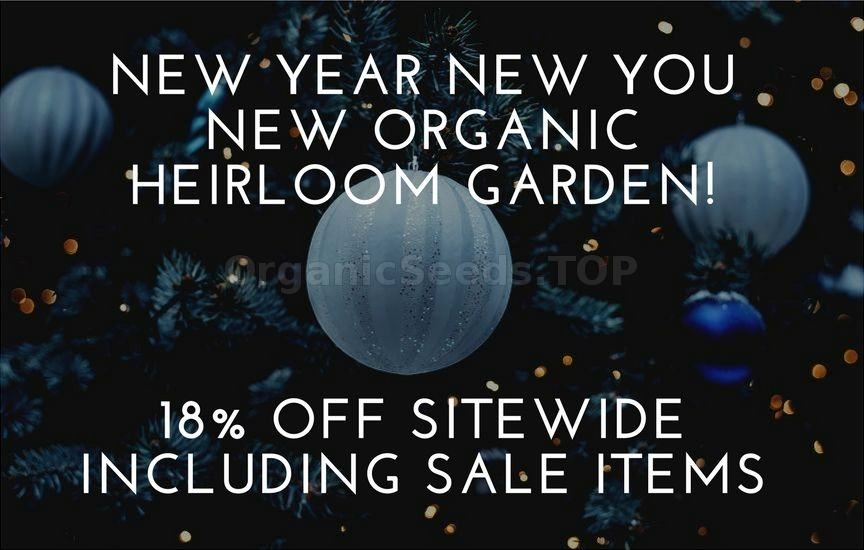 New Year New You New Organic Garden!