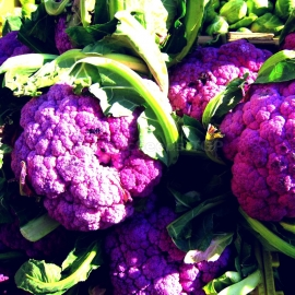 «Purple Head» - Organic Cauliflower Seeds