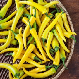 «Golden Horn» - Organic Hot Pepper Seeds