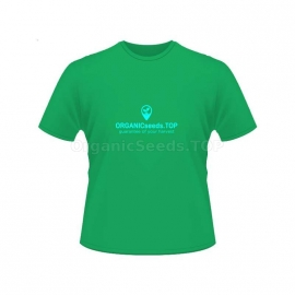 Green Men's Branded T-shirt - ORGANICseeds™