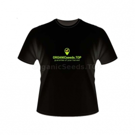 Black Men's Branded T-shirt - ORGANICseeds™