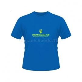 Blue Women's Branded T-shirt - ORGANICseeds™