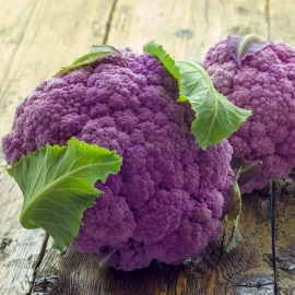 «Di Sicilia Violetto» - Organic Cauliflower Seeds