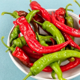 «Cowhorn» - Organic Hot Pepper Seeds