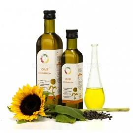 Organic Cold-pressed Sunflower Oil