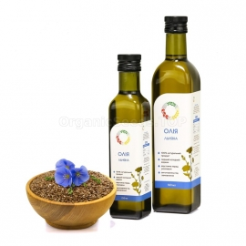 Organic Cold-pressed Flaxseed Oil