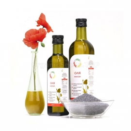 Organic Cold-pressed Poppy Oil