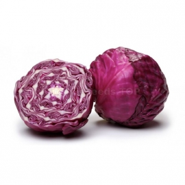 «Ruby Ball» - Organic Cabbage Seeds